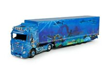 Tekno 69190 Mercedes Benz Actros Gigaspace with Trailer Fischertrans Scale 1:50