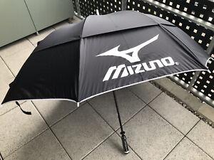 MIZUNO Tour Twin Canopy Golfschirm, Schwarz, *NEU/UNBENUTZT*