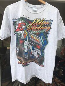 Eldora Speedway 2012 T Shirt LARGE Rossburg Ohio