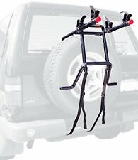 Easy to Install 2-Bike Spare Tire Mounted Rack w/ Extra Wide Bottom for Support