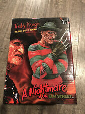 A Nightmare on Elm Street Freddy Krueger Resin Bust Bank Rare