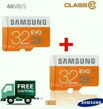 Combo Samsung EVO 32 GB Micro SD SDHC TF MMC 48MB/S Class 10 Memory Card