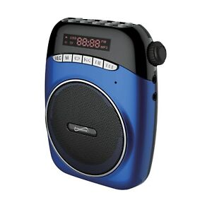 Supersonic SC-1370 Portable PA System With Usb And Micro Sd Card Slot