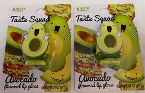 Taste Beauty The Taste Squad Lip Gloss Creamy Cute Avocado Flavored Lot Of 2