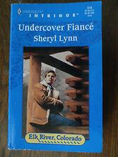 Undercover Fiance Lynn Romance PASSION Drama Love Novel Book Desire Intrigue USA