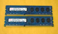 New listing Hynix 8Gb 2x4Gb Pc3 10600 1333Mhz Ddr3 Optiplex 790 580 990 980 380 390 Memory