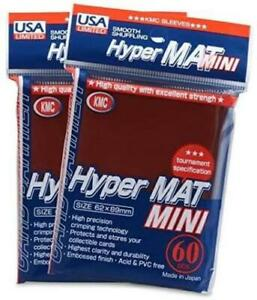 KMC Mini Hyper Matte Sleeves 60-Count Choose Your Color
