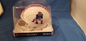 New England Patriots Throwback mini helmet BLEM