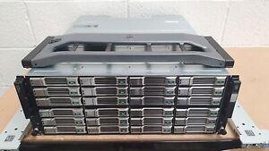 Dell EqualLogic PS6210E 4U 96TB (24x 4TB 7.2K SAS) 10GbE iSCSI SAN Array SFP+