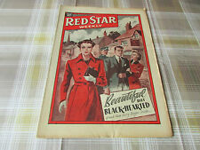 RED Star Weekly 28/04/1951 WOMANS Magazine Beautiful but Blach Hearted Cover
