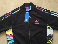Mens Adidas Teorado LA Superstar Track SST FZ Jacket Top & Shorts SET Ltd Retro