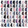 3,6,12 Pair Ladies Gentle Grip Cotton Socks Non Elastic Honeycomb Top Womens 4-8
