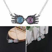 Luna Lovegood Glasses Harry Potter Eye Choker Pendant Necklace Zinc Alloy Gift