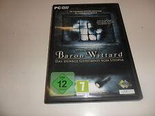 PC  Baron Wittard - Das dunkle Geheimnis von Utopia