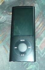 Apple iPod Nano 4th Generation A1285 BLACK 8GB Music Player 2287 - Scrn Blemish