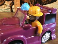 """MUSICAL LOW RIDER CAR,SONG """"RIDIN DIRTY"""" LIGHTS,MOVES,SOUNDS,WORKS,RARE GEMMY"""