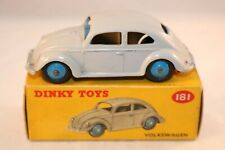 Dinky Toys 181 Volkswagen Kever - Beetle - Kafer near mint in box all original
