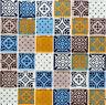 Glasmosaik bunt Zementoptik Bad WC Küche Wand Fliesenspiegel WB78B-0123|1 Matte