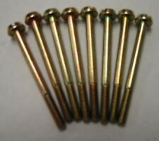 GM CARS HOLLEY CARB FUEL BOWL SCREWS SET OF (8) GM NOS NEW OLD STOCK