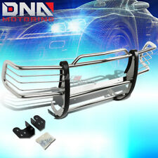 FOR 98-04 BLAZER/SONOMA GMT400 BLACK COATED MILD STEEL FRONT GRILL GUARD FLAME