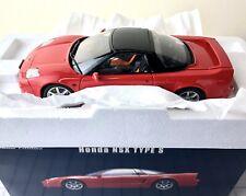EBBRO 24014 HONDA NSX TYPE S RED 1:24 SCALE PREMIUM COLLECTION RARE REPLICA MIB
