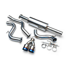 AGENCY POWER CATBACK EXHAUST+DUAL TI TIPS FOR 13-18 FORD FOCUS ST