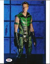 JUSTIN HARTLEY as GREEN ARROW SIGNED 8X10 PHOTO #7 PSA DNA SMALLVILLE