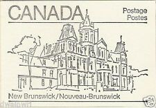 Canada 1982 - 50¢ Maple Leaf Booklets #BK82A (labels top row) - New Brunswick
