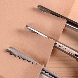 Fabric Decor Edge Pinking Shears Scissors Clipper Large Scallop cut 3/5/7mm
