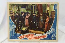 "Captured in Chinatown Original Movie Lobby Card 11"" x 14"" 1935 Tarzan"