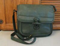 Green Fields PURSE Country Cowhide Leather Shoulder BAG Handbag 👜 Satchel