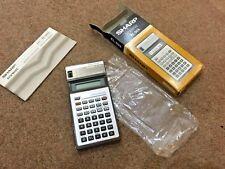 Sharp Elsimate EL505 Pocket Calculator