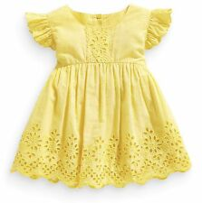 ВNWT ВNWT NEXT Girls • Yellow Broderie Lace Blouse • 100% Cotton • 9-12 Months