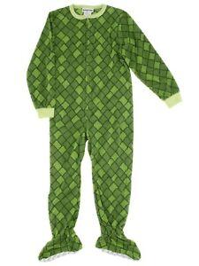 Komar Kids Boys Dinosaur Green Blanket Sleeper Footed Pajamas
