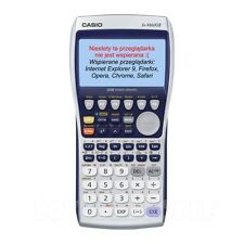 Genuine CASIO FX-9860GII SD Programmable Graphing Scientific Calculator w/ Case
