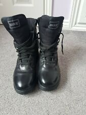 Magnum Classic Black Police, Combat, Security, Cadet boots Size 8 UK Worn once