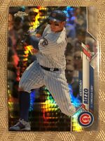 2020 Topps Chrome Prism Refractor Anthony Rizzo #71 Chicago Cubs SP Insert