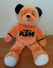 KTM Motorcycle Orange Plush Bear w/ KTMUSA.COM embroidered RARE from 2000