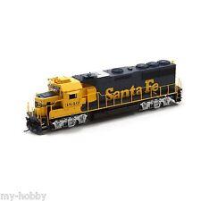 HO Scale GP50 Locomotive w/DCC & Sound - Santa Fe (Ph II) #3840 - Athearn G40634