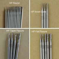 SBT Dental Tungsten Carbide HP Burs Round Flat Taper Fissure Invert Cone 44.5mm