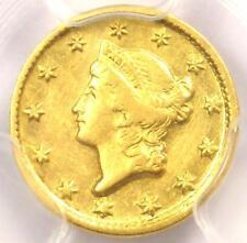 1851-D Liberty Gold Dollar G$1 - PCGS AU Details - Rare Dahlonega Coin!