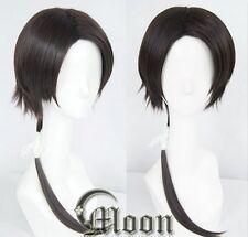 Touken Ranbu The Sword Dance Kashuu Kiyomitsu black Cosplay /wig Anime hair