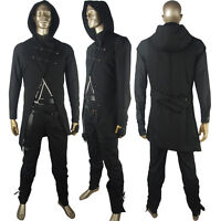 Unisex Dishonored 2 Corvo Attano Bodyguard Outfit Halloween Cosplay Costume
