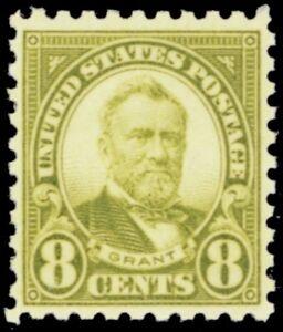 589, Mint NH 8¢ VF/XF Stamp With Balanced Margins -- Stuart Katz