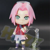 "Cute Nendoroid 833 Naruto Shippuden Sakura Haruno 4"" Action Figure Model Toy New"