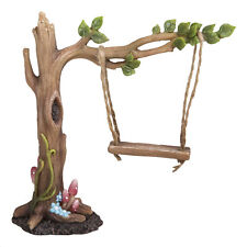 Vivid Arts Miniature World Tree Leaf Swing Enchanted Fairies Collectable Scaled