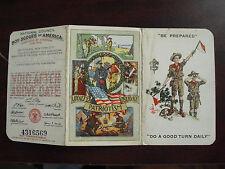 Vintage 1925 Boy Scouts of America Membership Card