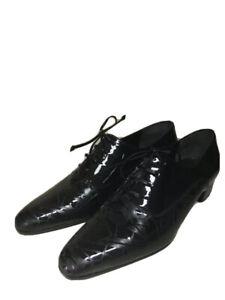 Lorenzo Banfi Damenschuhe Business-Schuhe Halbschuhe Echtleder Schwarz Gr 37 Neu