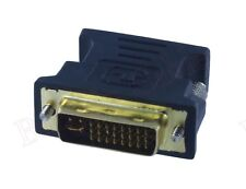 Wholesale DVI-I(24+5) Dual Link Male Analog to VGA(15-pin) Female Connec Adapter