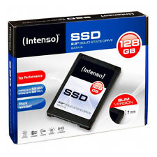 """kQ Intenso 2,5"""" SSD intern TOP 128 GB SATA III Festplatte Solid State Drive"""
